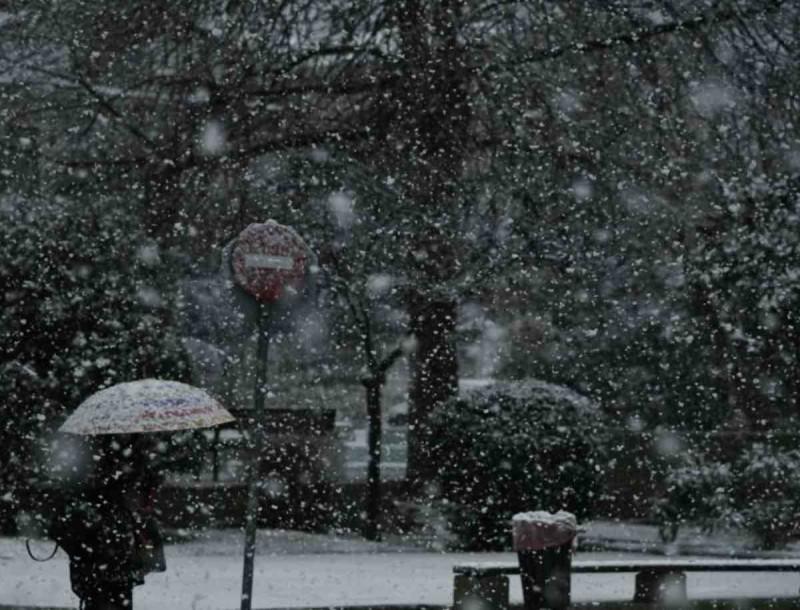 Καιρός: Μεγάλη πτώση της θερμοκρασίας - Που θα χιονίσει σήμερα