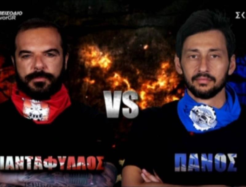 Survivor 4: Η απόλυτη μάχη - Ο Καλίδης κέρδισε τον Τριαντάφυλλο