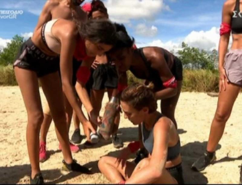 Survivor 4: Κάτια για Μαριπόζα - «Η τύπισσα είναι εκατό κιλά»
