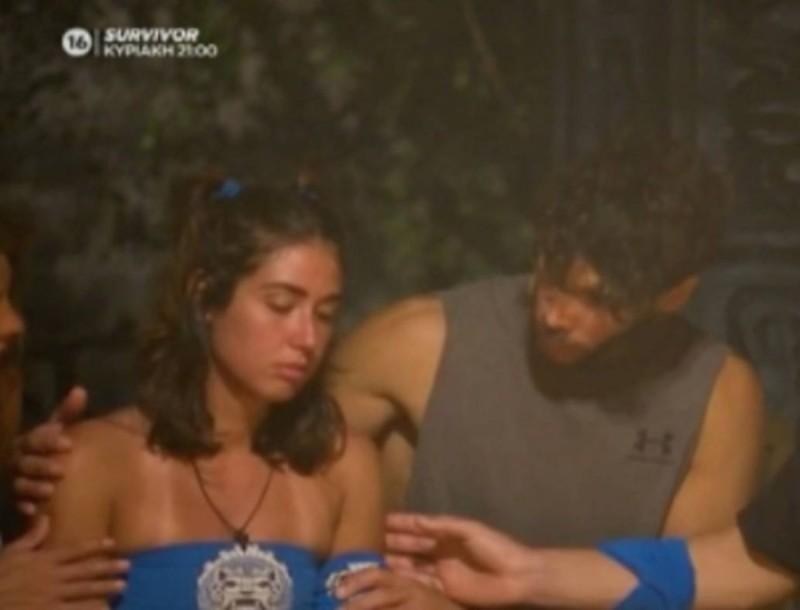 Survivor 4: Λιποθύμησε ξαφνικά η Κρεμλίδου στο συμβούλιο - Σε σοκ οι συμπαίκτες της