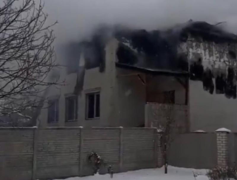 Θρίλερ στην Ουκρανία: Ισχυρή φωτιά σε γηροκομείο με 15 νεκρούς