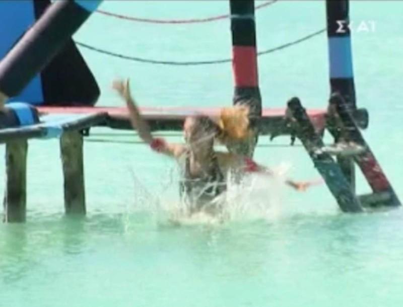 Survivor 4: Χαμός ξανά με την Σαλαγκούδη στο αγώνισμα - Πάει προς το κακό στο χειρότερο