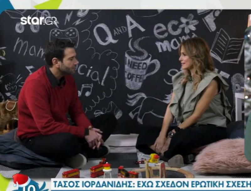 Τάσος Ιορδανίδης: «Έχω σχεδόν ερωτική σχέση με την κόρη μου, την διεκδικώ σαν να είναι κοπέλα που θέλω»
