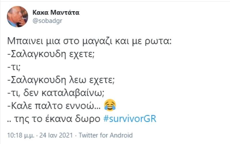Survivor 4 σαλαγκούδη