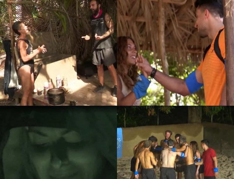 Survivor 4 - highlights 21/2: Ο τσακωμός Ντάφυ, Σοφίας, Ανθής και ο πρώην της Μαριαλένας