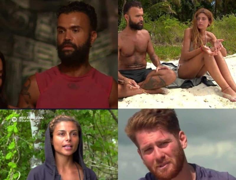 Survivor 4 - highlights 17/2: Η επίθεση στην Ελευθερίου, ο τσακωμός Ανθής - Περικλή και η αποχώρηση του