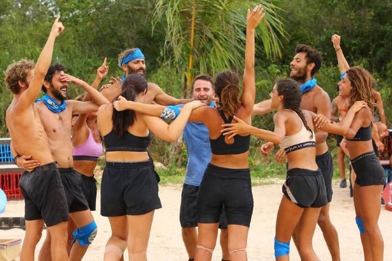 Survivor μπλε ομάδα