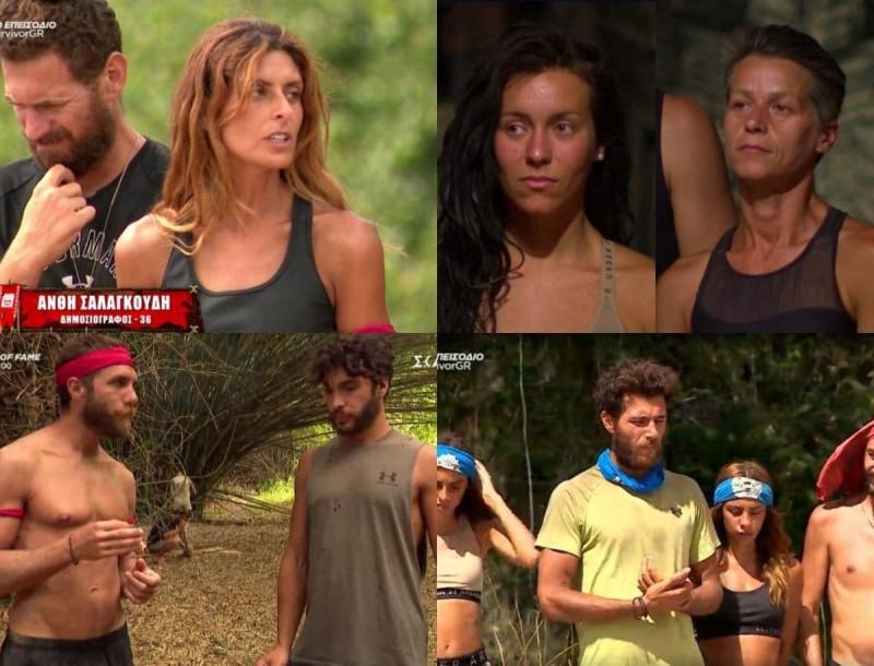 Survivor 4 - Highlights 23/2: Η επιμονή του Κόρο να διώξει την Ανθή και οι υποψήφιοι προς αποχώρηση