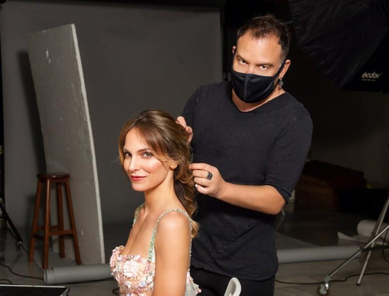 Backstage beauty!