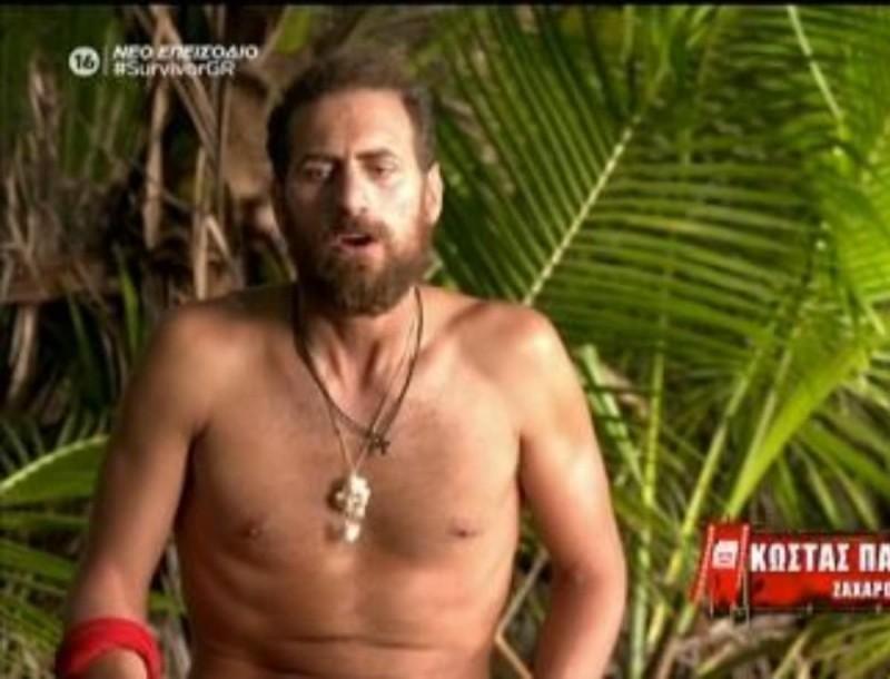 Survivor 4: Κώστας για Τριαντάφυλλο - «Βάζει συνέχεια το εγώ του και τον εαυτό του μπροστά»