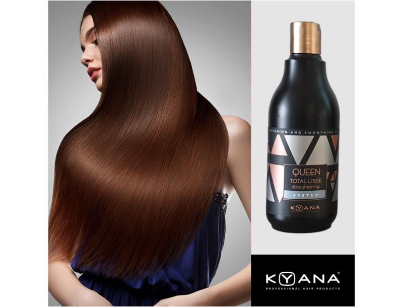 Μυστικό για ίσια & λαμπερά μαλλιά για 4 μήνες με τη νέα θεραπεία κερατίνης της ΚΥΑΝΑ!