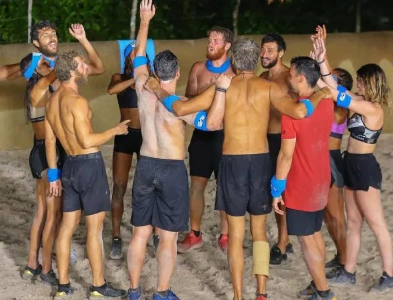 Survivor 4: Νικητές της πρώτης ασυλίας οι Μπλε