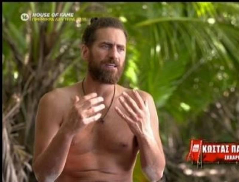 Survivor 4: Παπαδόπουλος για Κοψιδά - «Με συμφέρει που χάνει την ψυχραιμία του, θα πατήσω σε αυτό»