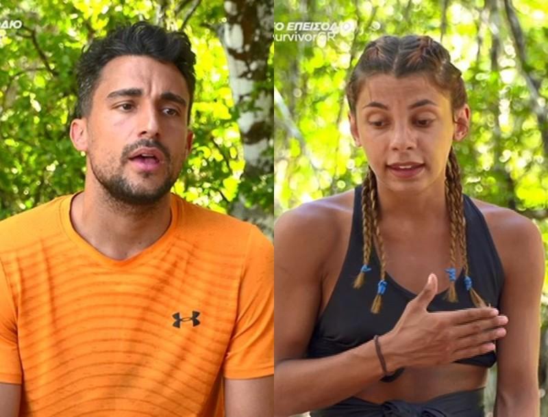 Survivor 4: Ξεκαθάρισαν Σάκης και Μαριαλένα - «Δεν ήρθα εδώ για να σου δημιουργήσω πρόβλημα»
