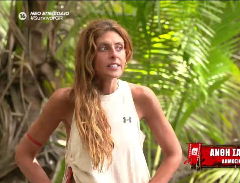 Survivor 4 - Ανθή: «Είναι τραγικό κι αστείο ότι μένω λόγω του πατέρα μου»