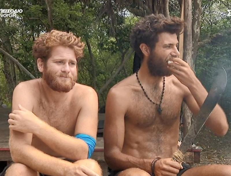 Survivor 4 - Τζέιμς: «Ο Σάκης