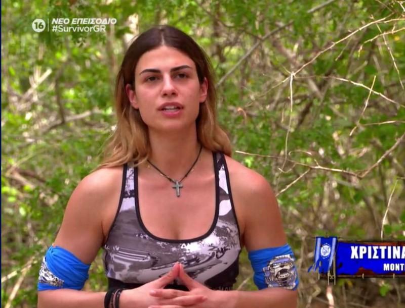 Survivor 4 - Χριστίνα: «Με τον Σάκη είχαμε ένα φλερτ, τώρα είμαστε φίλοι»