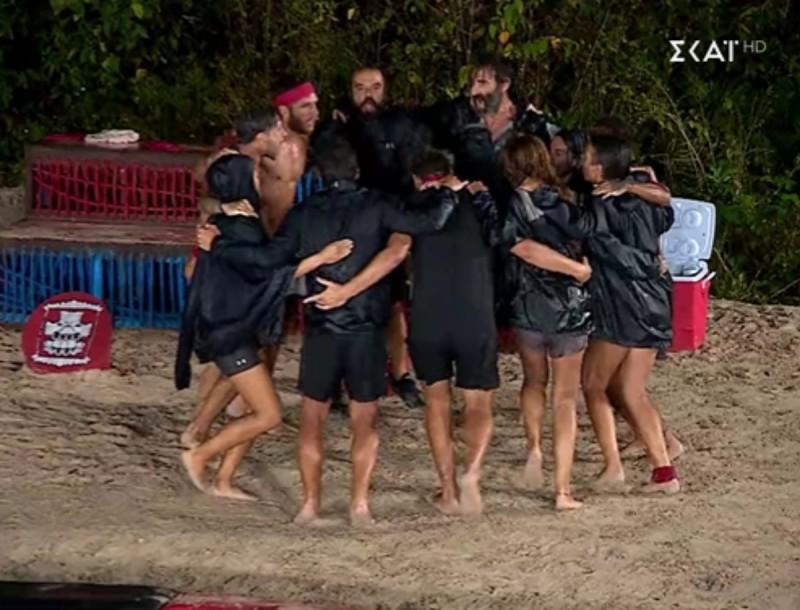 Survivor 4: Νικητές οι κόκκινοι με σκορ 10-9