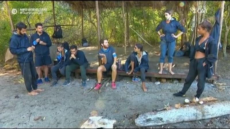 Survivor 4 - Τζέιμς: «Αλέξη και Κρις μπορούμε να κάνουμε πάλι τις προμήθειες ένα»