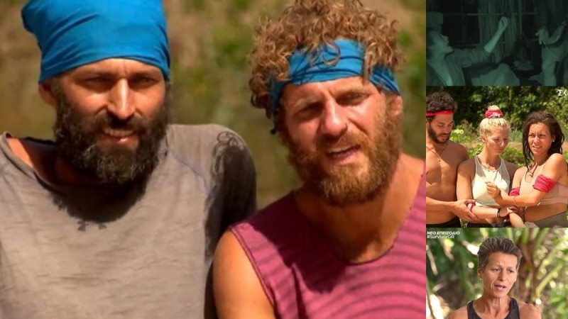 Survivor 4 - highlights 2/3: Οι θεατές Κρις & Άλεξ, η κατάρρευση της Ελένης και το
