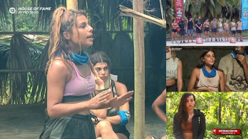 Survivor 4 highlights 22/3: Η Μαριαλένα και ο Σάκης, το ξέσπασμα της Ελευθερίας, ο Ντάφυ και το φαγητό