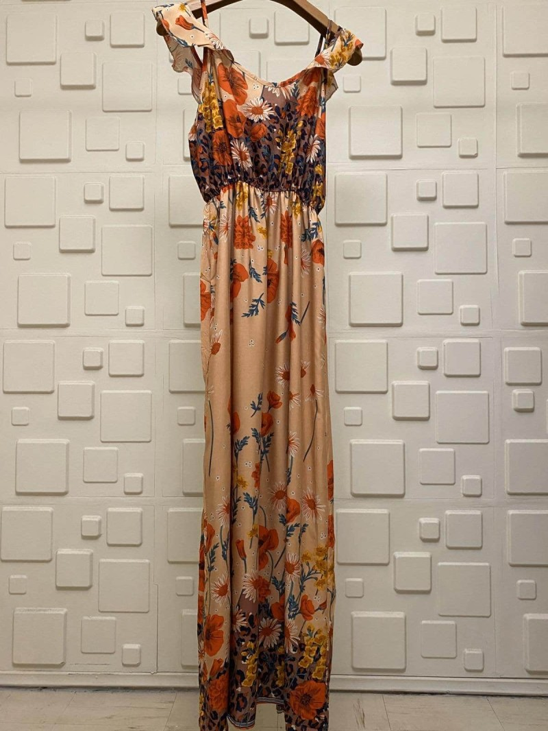 floral φόρεμα