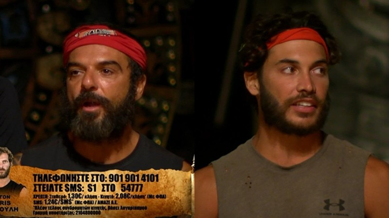 Survivor 4: Ντάφι και Ασημακόπουλος «άδειασαν» τον Τζέιμς - «Μας κάνει πλάκα, σιγά μην ψήφιζε τον κολλητό του»