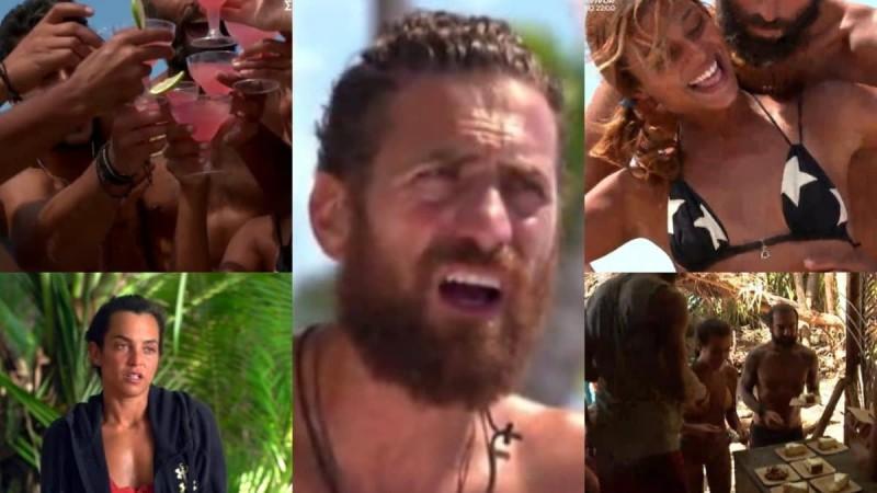 Survivor 4 - highlights 7/3: To party στο σκάφος, ο τσακωμός Καρολίνας - Κώστα και δηλητηριώδες σαλάχι