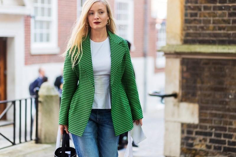 πράσινο σακάκι