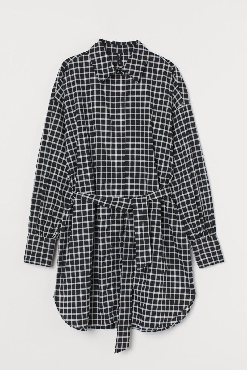 shirt dress με ζώνη