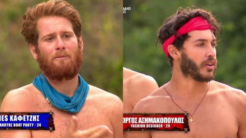 Survivor 4: Νέος καυγάς μετά την ένωση με Τζέιμς και Ασημακόπουλο