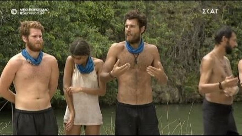 Survivor 4: Άλλαξε θέση ο Καλίδης ώστε να μην είναι δίπλα στον Νίκο Μπάρτζη