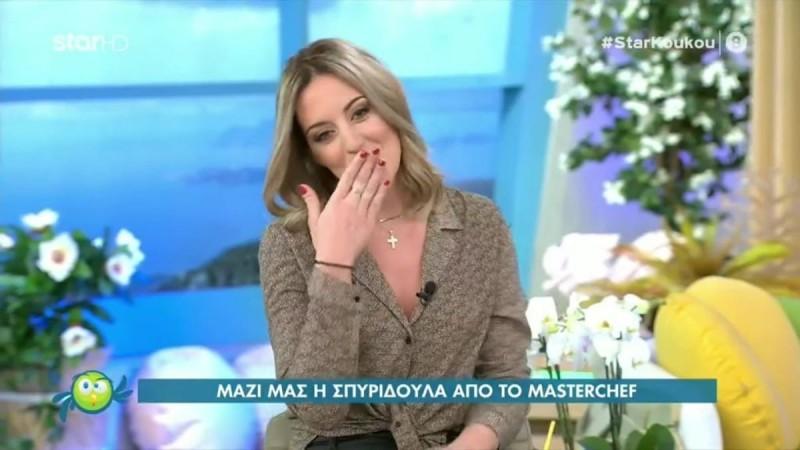 Παντρεύεται η Σπυριδούλα Καραμπουτάκη - Έδειξε το μονόπετρο στον αέρα του Ευτυχείτε