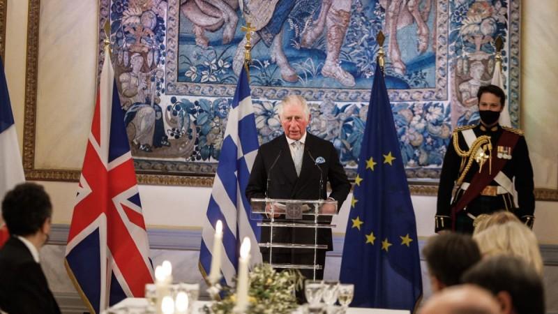 Ο συγκινητικός λόγος του Κάρολου για την Ελλάδα