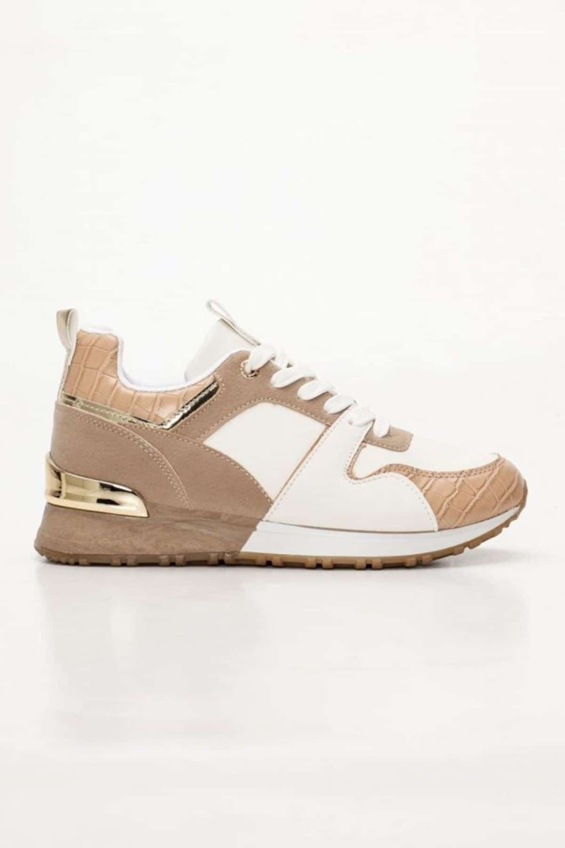 sneakers δίχρωμα