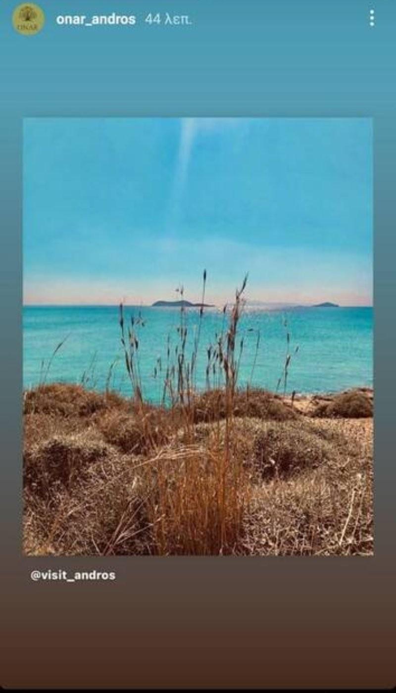 Ματέο Παντζόπουλος φωτογραφίες από Άνδρο