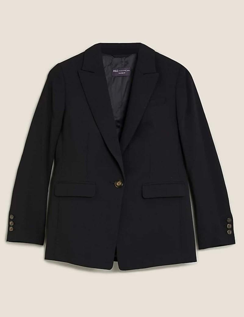 blazer μαύρο