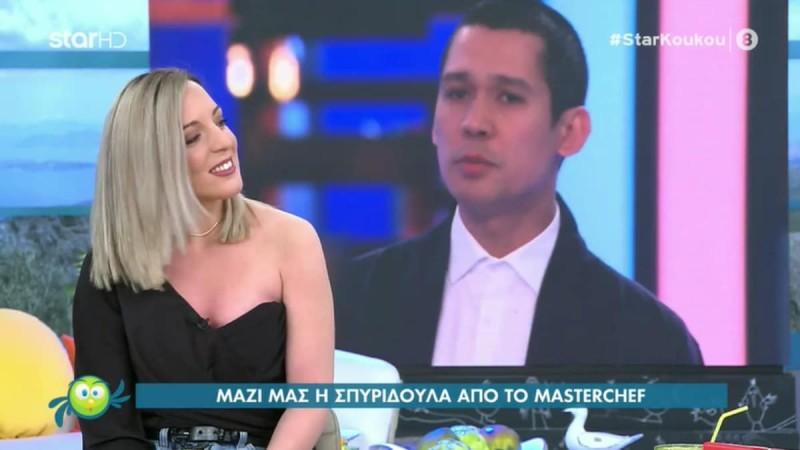 Masterchef 5 - Σπυριδούλα Καραμπουτάκη: «Η Μαρίνα φέρθηκε σαν ερασιτέχνης»