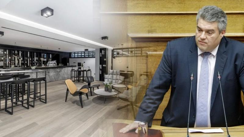 Πρόστιμο στον βουλευτή Μίλτο Χρυσομάλλη - Παραβίασε τα μέτρα κορωνοϊού