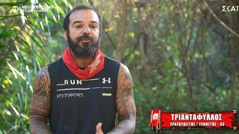 Survivor 4: Ο Τριαντάφυλλος «γονάτισε» το Twitter με την ατάκα του