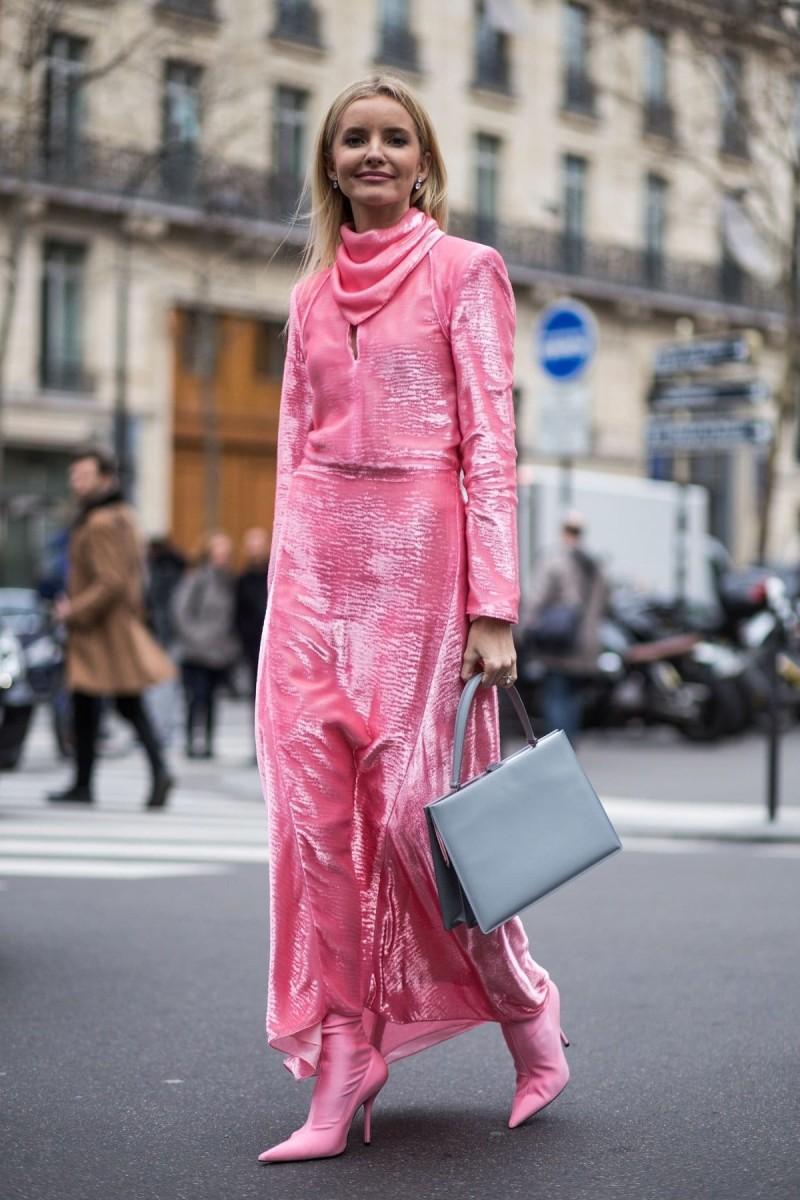 street style ροζ σετ