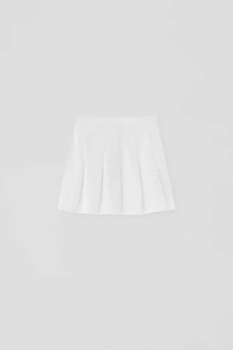 μίνι φούστα με πιέτες
