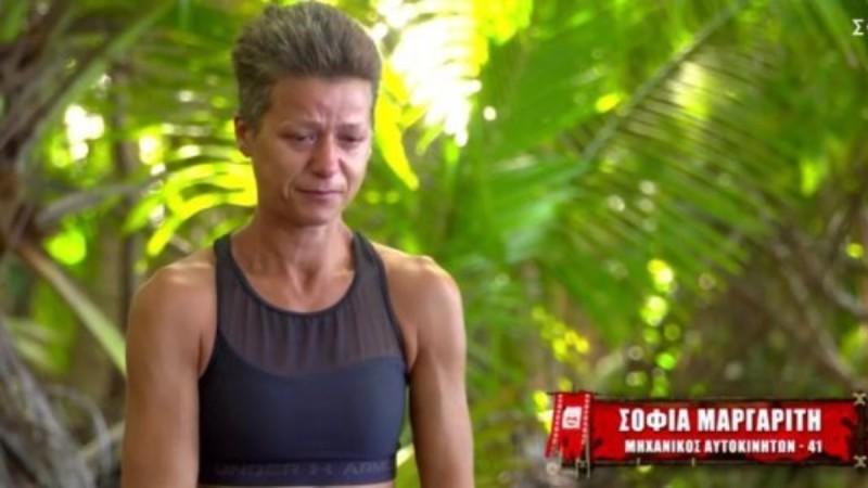 Survivor 4: Ο Γιώργος Λιανός ανακοίνωσε τη αποχώρηση της Σοφίας Μαργαρίτη