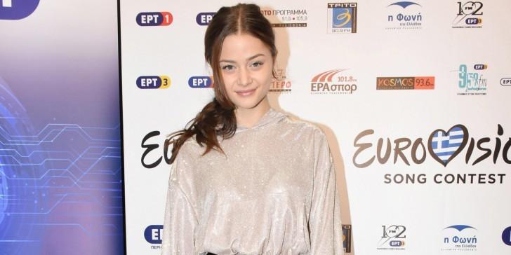 Στεφανία Λυμπερακάκη Eurovision