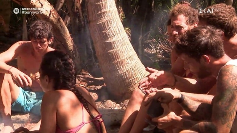 Survivor 4 τα έβαλε ο Παπαδόπουλος με την Καρολίνα