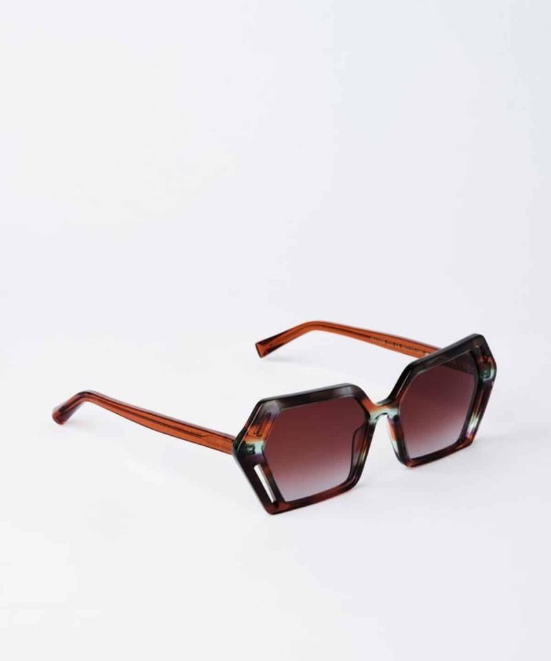 πολυγωνικά γυαλιά ηλίου