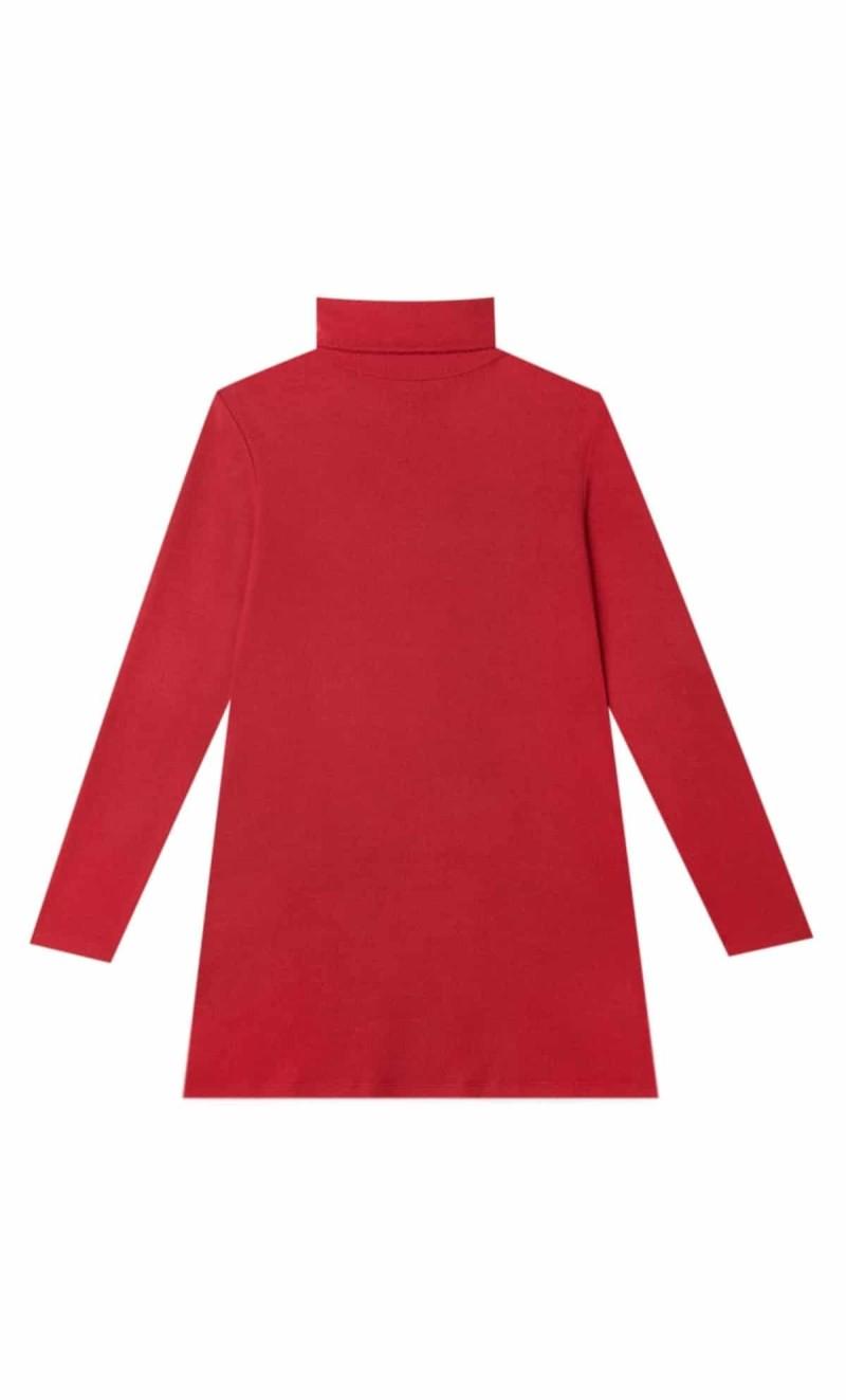 κόκκινο μίνι φόρεμα