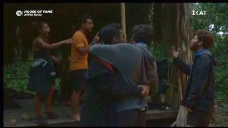 Survivor 4: Μαριαλένα σε Τζέιμς και Νίκο - «Ντροπή σας! Δεν είστε άντρες!»