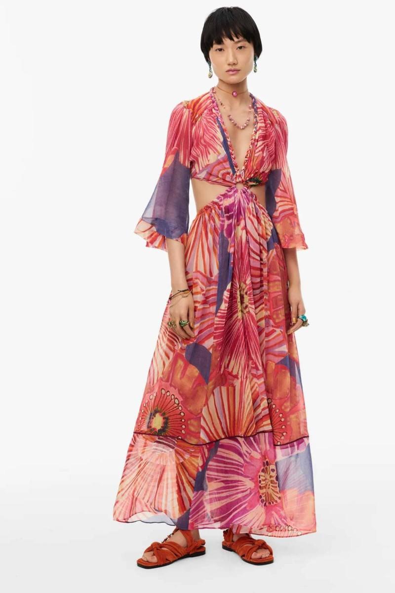 Zara floral φόρεμα τάση 2021