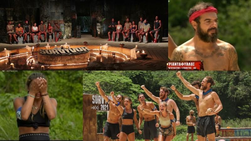 Survivor 4 Highlights (20/4): H έκκληση του Τριαντάφυλλου, τα δάκρυα της Μαριαλένας και οι υποψήφιοι προς αποχώρηση